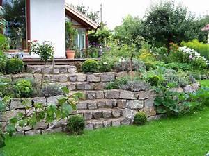 Mauer Im Garten : 06530620180202 gartengestaltung steine mauer inspiration ~ Michelbontemps.com Haus und Dekorationen