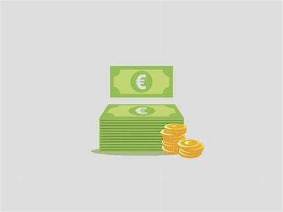 Money Animated Icon Animation Billetes Irph Animations