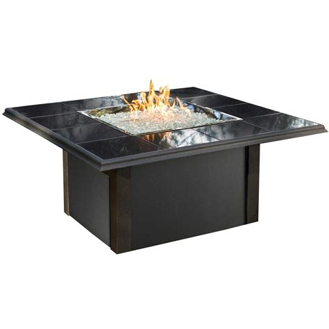 patio propane fire pit table outdoor greatroom company napa valley propane fire pit