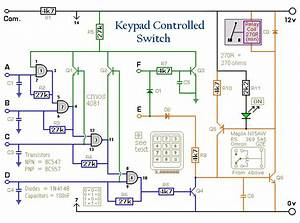 How To Build A 4-digit Keypad Controlled Switch