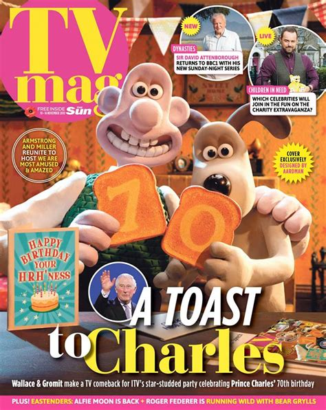 front cover wallace gromit facebook