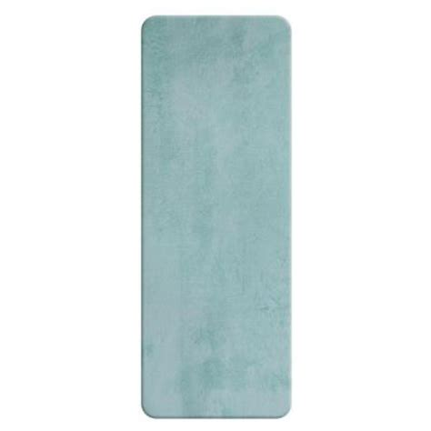 Bathroom Rug Runner 24x60 by Sleep Innovations Faded Blue 24 In X 60 In Bath Rug