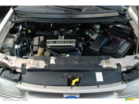 1995 Ford Windstar Gl 3.8 Liter Ohv 12-valve V6 Engine