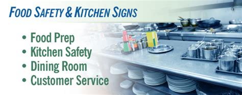 Kitchen Safety Labels by Food Preparation And Kitchen Safety Signs Labels