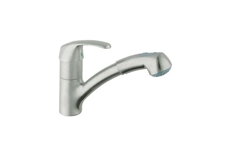 grohe alira kitchen faucet faucet com 32999sd0 in stainless steel by grohe