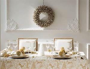 Decoration De Noel Table : table de no l nos id es de d coration en vid os et ~ Melissatoandfro.com Idées de Décoration