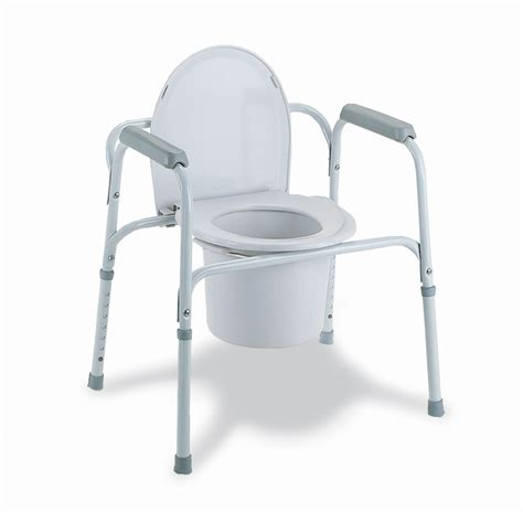 commode chair toilet got it deluxe 3 in 1 steel commode