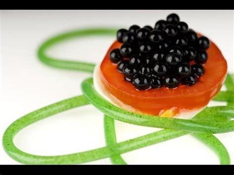 recette cuisine moleculaire molecular gastronomy balsamic vinegar pearls
