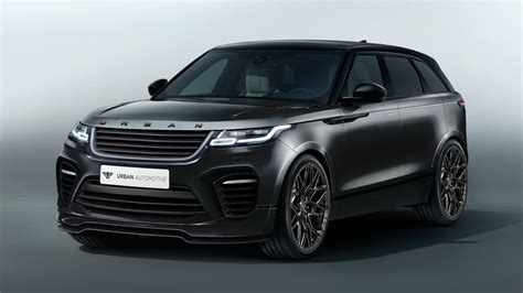 land rover velar range rover velar gains urban automotive makeover