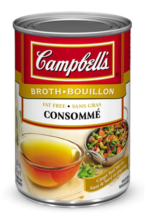 what is consomme cbell s 174 condensed consomm 233