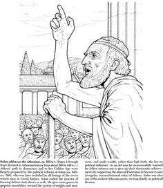 images  athens coloring pages  pinterest
