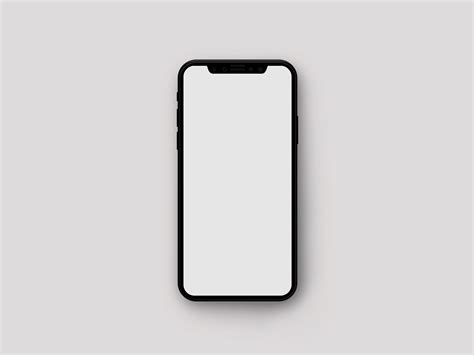 Free Iphone Mockup Minimalistic Iphone X Mockup The Mockup Club