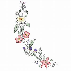 Draw Tumblr Flowers Eleletsitz: Transparent Flower Drawing ...