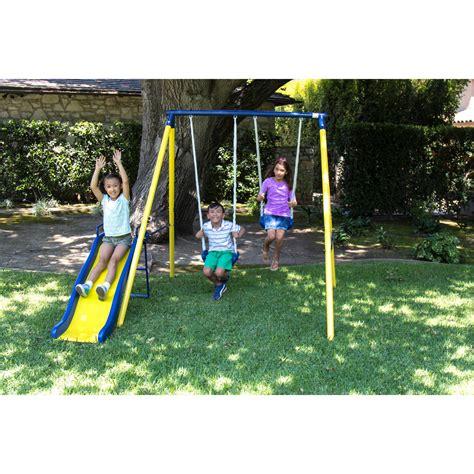 kid swing sportspower my toddler swing walmart