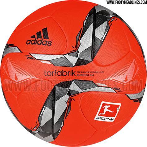 Adidas Torfabrik 15-16 Bundesliga Ball - Orange Winter ...