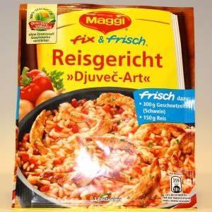 Djuvec Reis Maggi : maggi fix frisch reisgericht djuvec art ~ Lizthompson.info Haus und Dekorationen