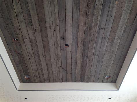 recessed reclaimed wood ceiling sundance log timber