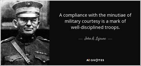 john  lejeune quote  compliance   minutiae