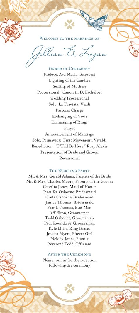 wondrous sample wedding ceremony ideas