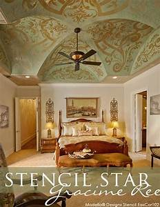 17 best images about stencil stars great customer With what kind of paint to use on kitchen cabinets for grand canyon wall art
