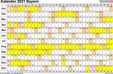 Kalender 2021 juni zum ausdrucken. Kalender 2021 Bayern Zum Ausdrucken Kostenlos