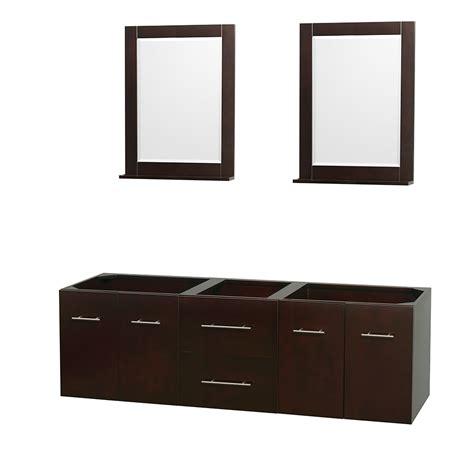 wyndham collection wcvw00972descxsxxm24 centra 72 inch bathroom vanity in espresso no