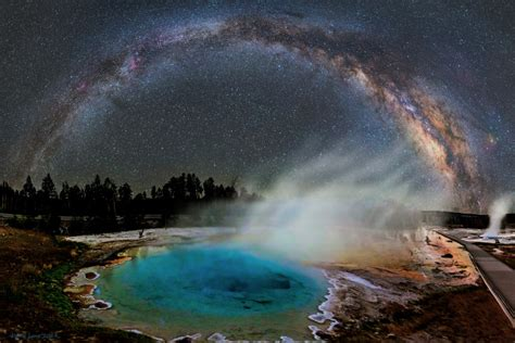 Gorgeous Photo Of The Milky Way In The Night Sky Over