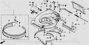 Honda Lawn Mower Parts Hr214 Sxa 2 Vin  Hr214