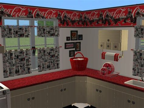 Mod The Sims  Coca Cola Kitchen (maylin Country Kitchen