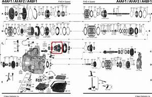 Differential Assembly Automatic Transmission A4bf1 A4bf2