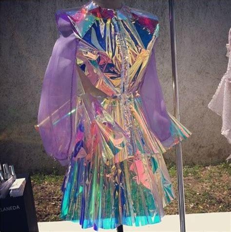 Iridescent Cellophane Dress Iriiriiridescent