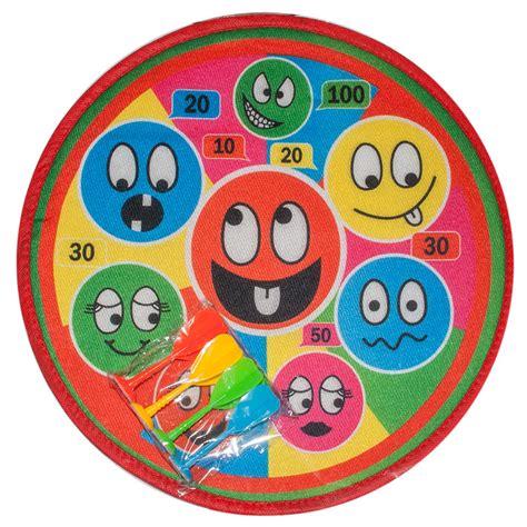 soft dartspiel klett dart board  cm  pfeile wurfscheibe dartscheibe smile ebay