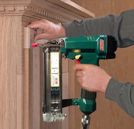 build install   kitchen cabinets nail gun network