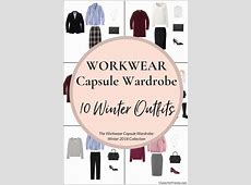 Create a Workwear Capsule Wardrobe 10 Winter Outfits