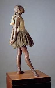 Little Dancer, Aged 14 (polychrome bronz - Edgar Degas as ...