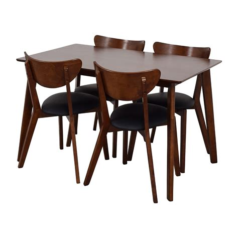 Table And Chair Set by 35 Wholesale Interiors Brown Dining Table Set With