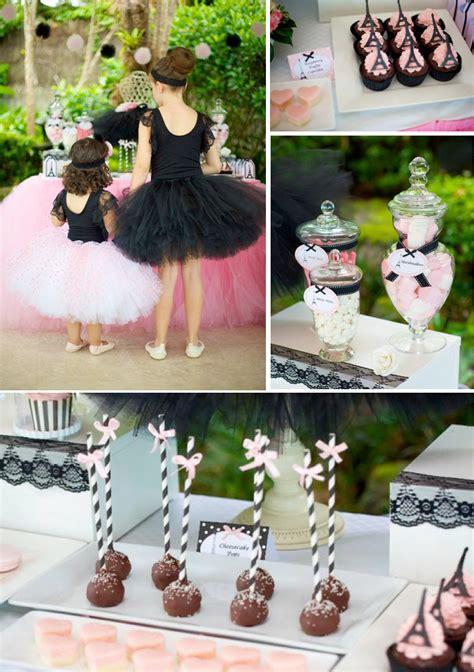 kara 39 s party ideas glamorous girl 1st birthday kara 39 s party ideas parisan chic ballerina ballet pink