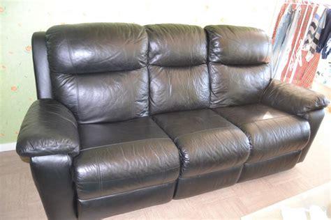 griffure canapé cuir troc echange canape cuir relax 3 places sur troc com