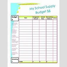 Free Back To School Budget Tracker For Teens!  Homeschool Giveaways