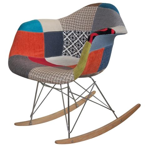 Sedia A Acquista Sedie A Dondolo Tower Wood Patchwork