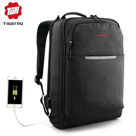 Tas Ransel Laptop W 14 tigernu tas ransel laptop 14 inch t b3305 black