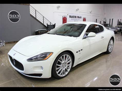 2018 Maserati Granturismo S Automatic One Owner W Only