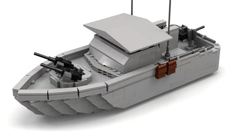 Lego Army Boat Sets by Lego War River Patrol Boat
