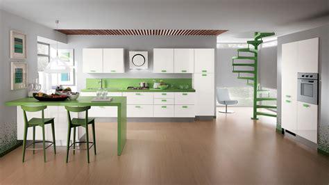 modern green kitchen cucina componibile sax sito ufficiale scavolini 4202