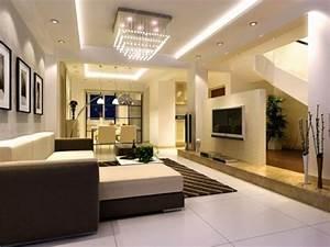 Moderne Tische Für Wohnzimmer : 33 einrichtungsideen f r tolle deckengestaltung im wohnzimmer ~ Markanthonyermac.com Haus und Dekorationen