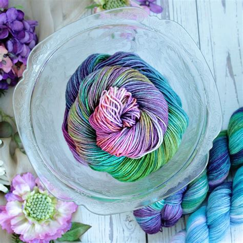 stained glass yarn love