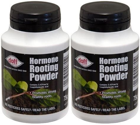 Hormon Root Up By Aprilia Garden 2 x doff hormone rooting powder 75g for cuttings strong