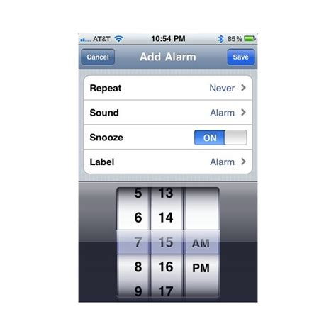 how to set alarm on iphone how to set iphone alarm