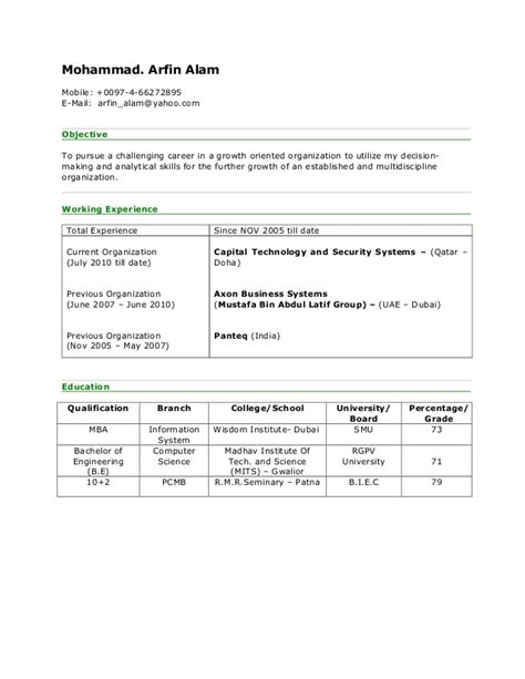 Mission Statement For Sales Resume by Sle Resume Of Lecturer For Mba Argumentative Essays On