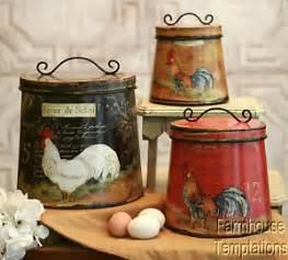 canisters kitchen decor tuscan kitchen canisters ebay